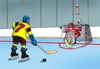 Cartoon: hokesemafor (small) by kotrha tagged hokej,hockey,world,cup