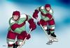 Cartoon: konzerhok (small) by kotrha tagged hokej,hockey,world,cup