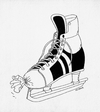Cartoon: korccula (small) by kotrha tagged hokej,hockey,world,cup