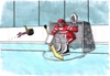 Cartoon: martanko (small) by kotrha tagged ice,hockey