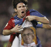 Cartoon: messi (small) by kotrha tagged new,pope,neue,papst