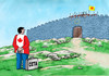 Cartoon: neotvorime (small) by kotrha tagged ceta,canada,europe,eu,usa,brusel,world