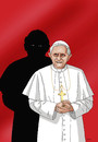 Cartoon: neuepapst (small) by kotrha tagged papst,pope,benedikt,xvi