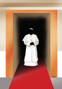 Cartoon: newpope2013 (small) by kotrha tagged pope,papst