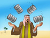 Cartoon: ropno (small) by Lubomir Kotrha tagged oil,opec,price,freeze,world