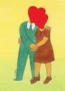 Cartoon: srdcosi21 (small) by Lubomir Kotrha tagged may,love,woman,man