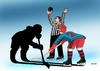 Cartoon: tienohok (small) by kotrha tagged hokej,hockey,world,cup