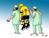 Cartoon: zranenie (small) by kotrha tagged ice,hockey