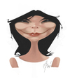 Cartoon: Björk (small) by Jano tagged bjork,caricature,portrait,digital,painting