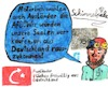 Cartoon: AfD - Phantasieausländer (small) by Schimmelpelz-pilz tagged rassismus,afd,nazi,wutbürger