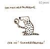 Cartoon: Sommersprossen. (small) by puvo tagged dalmatiner,sommer,sommersprosse,freckle,summer,dalmation,dog,hund
