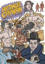 Cartoon: Arthur Cravan (small) by javierhammad tagged illustration poet boxer dada surreal imagination sex writer
