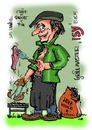 Cartoon: Lieblingsitaliener Easy (small) by Egon58 tagged italiener,grillen,essen,geniessen