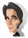 Cartoon: Al Pacino (small) by FARTOON NETWORK tagged al,pacino,movie,star,caricature,films