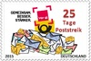 Cartoon: Sondermarke (small) by Andone tagged streik,verdi,post,briefmarke