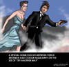 Cartoon: Deleted Scenes (small) by perugino tagged james,bond,hollywood,entertainment