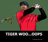 Cartoon: Tiger Woods (small) by perugino tagged scandals,sport,golf