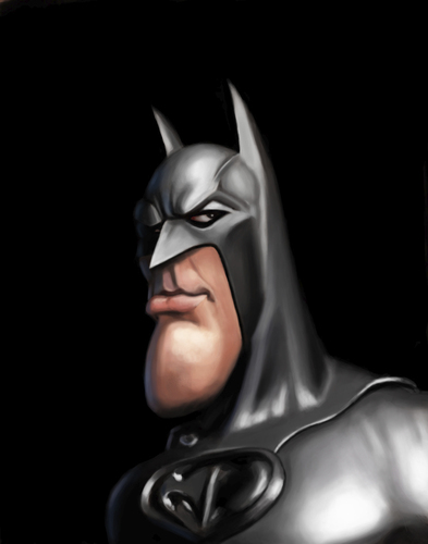 Batman Von Doodleart Berühmte Personen Cartoon Toonpool