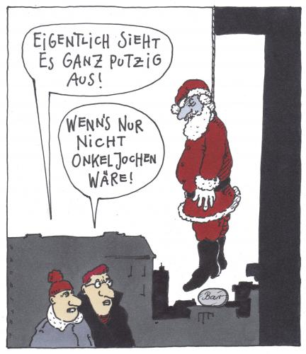 adventszeit von andreas pr stel philosophie cartoon. Black Bedroom Furniture Sets. Home Design Ideas