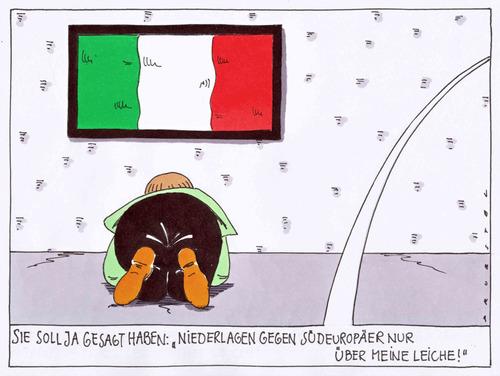 Am boden von andreas pr stel politik cartoon toonpool for Boden cartoon
