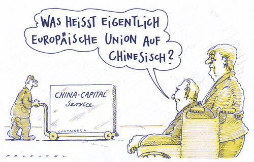 Cartoon: chinakohle (medium) by Andreas Prüstel tagged china,eu,kapital,finanzkrise,eurokrise,merkel,schäuble,china,eu,kapital,finanzkrise,eurokrise,merkel,schäuble