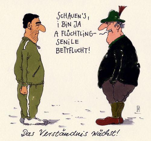 flüchtlinge von Andreas Prüstel   Politik Cartoon   TOONPOOL