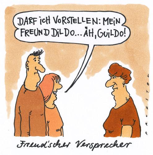 Toonpool Com Toon Agent Freudscher Versprecher Von Andreas Prustel