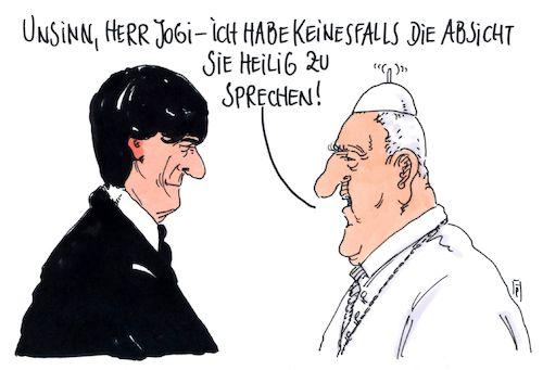 Jogi Löw Karikatur