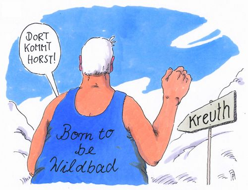 Cartoon: wilder horst (medium) by Andreas Prüstel tagged horst,seehofer,csu,klausurtagung,wildbad,kreuth,born,to,be,wild,steppenwolf,rock,cartoon,karikatur,andreas,pruestel,horst,seehofer,csu,klausurtagung,wildbad,kreuth,born,to,be,wild,steppenwolf,rock,cartoon,karikatur,andreas,pruestel