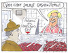 Cartoon: beim metzger (small) by Andreas Prüstel tagged directorscut,fleischerei,film,chef