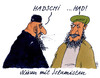 Cartoon: dschihad (small) by Andreas Prüstel tagged islamisten,dschihadisten,dschihad,terror,terroristen,niesen,cartoon,karikatur,andreas,pruestel