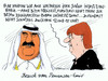 Cartoon: emir katar (small) by Andreas Prüstel tagged emir,katar,staatsbesuch,angela,merkel,investitionen,deutschland,dchihadisten,is,cartoon,karikatur,andreas,pruestel