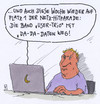 Cartoon: hitparade (small) by Andreas Prüstel tagged internet,hitparade,daten,datenklau,user,laptop,trio,band,dadada,cartoon,karikatur,andreas,pruestel