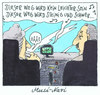 Cartoon: musi-navi (small) by Andreas Prüstel tagged navigationssystem,tomtom,songtext,xaviernaidoo