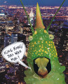 Cartoon: new yorker (small) by Andreas Prüstel tagged newyork,kingkong,monster