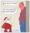 Cartoon: o.t. (small) by Andreas Prüstel tagged weihnachtsmann,weihnachten,hartz,iv