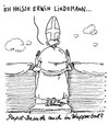 Cartoon: papstbesuch (small) by Andreas Prüstel tagged papst,papstbesuch,wuppertal,loriot