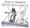 Cartoon: piratendusel (small) by Andreas Prüstel tagged diepiraten,umfragewerte