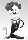 Cartoon: Charlie Chaplin (small) by Ulisses-araujo tagged charlie,chaplin