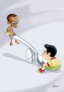 Cartoon: Hunger - 1 (small) by Ulisses-araujo tagged hunger,africa