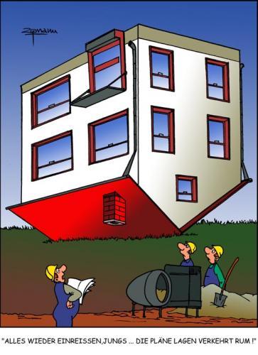 architektur von georg zitzmann forschung technik cartoon toonpool. Black Bedroom Furniture Sets. Home Design Ideas