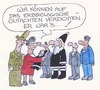 Cartoon: Erbbiologisches Gutachten (small) by Peter Gatsby tagged erbbiologisches,gutachten