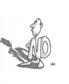 Cartoon: Opposition man always (small) by handren khoshnaw tagged handren khoshnaw