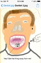 Cartoon: Dental Patient (small) by BrightSide tagged dental,patient,dentist,drill,talking,teeth,medical,pain,discomfort