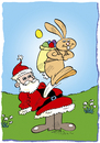 Cartoon: Osterhase (small) by astaltoons tagged ostern,hase,eier