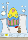 Cartoon: Osterhase (small) by astaltoons tagged ostern,eier
