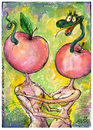 Cartoon: Adam and Eve (small) by BIB tagged love