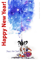 Cartoon: Doomsday... Happy New Year? (small) by BIB tagged 2012