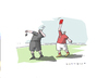 Cartoon: Rote Karte (small) by Mattiello tagged fussball,kommerz,schiedsrichter,wm