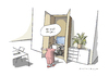 Cartoon: Schrank (small) by Mattiello tagged mann,frau,computer,rechner